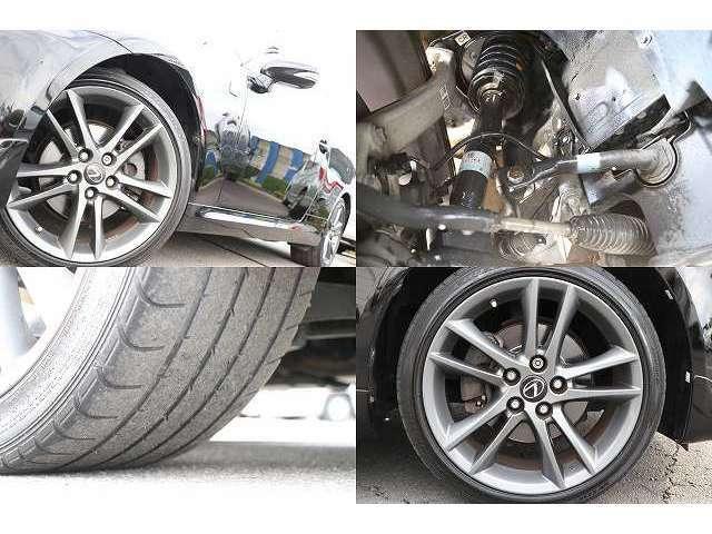 225/40/18 255/40/18 前2017年製 後2013年製タイヤ Fスポーツ専用18アルミ