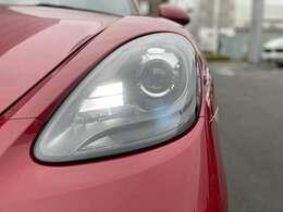ヘッドライトはキセノンヘッドライトブラック。