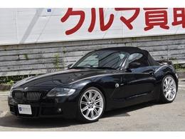 BMW Z4 ロードスター2.5i 後期 MARVINエアロ Mスポ19AW 赤レザー