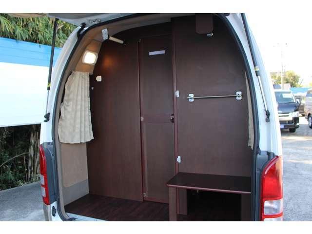 荷室スペースもしっかり確保されておりますので長旅でも安心です!
