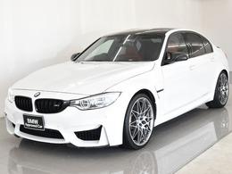 BMW M3セダン M DCT ドライブロジック フルメリノレザー コンペティションOP20AW