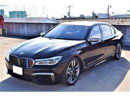 BMW 7シリーズ M760Li xドライブ 4WD アンビエントエアPKG・茶革・リアエンター