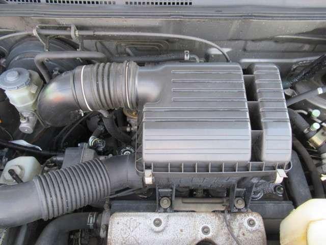 2.0L水冷直列4気筒DOHC16バルブエンジン!
