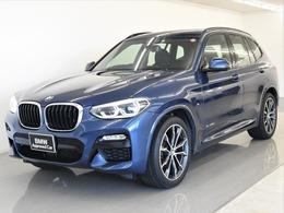 BMW X3 xドライブ20d Mスポーツ ディーゼルターボ 4WD イノベP 液晶カギ HUD ACC Tビュー OP20AW