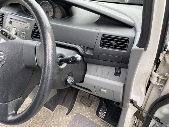 スマートキー付きですので鍵を差し込む事なくエンジンを始動できます。オートレベライザー付きになります。夜の走行も安心です