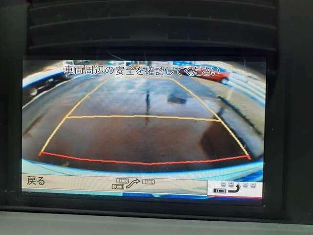 ガイドライン付きカラーバッグカメラ♪見ずらい後ろの障害物を確認出来ます♪パークセンサーも付いています♪