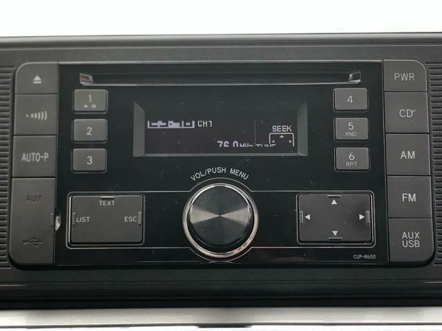 純正CDオーディオです!CD・ラジオを聴くことができます★なくては困るドライブの必需品です^^