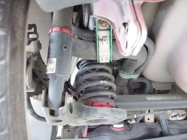 ◆ブリッツ車高調!◎その他、社外の足回りの取付も可能ですのでお気軽にご相談下さい!