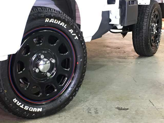 デイトナSS 14インチマッドスター ラジアル A/T 新品タイヤ