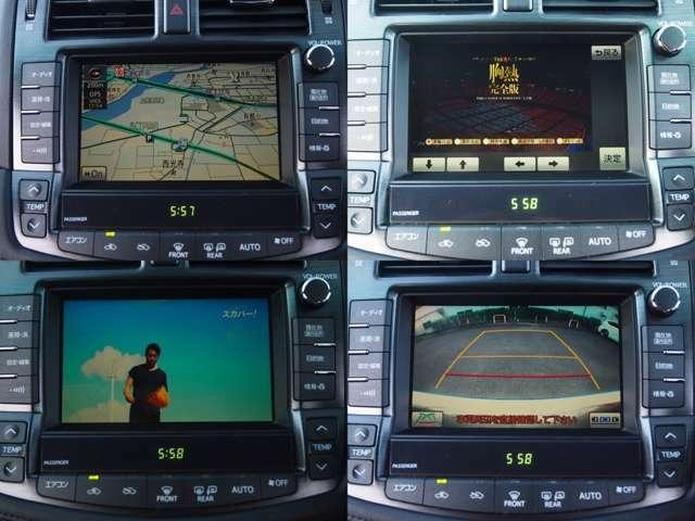 走行中、地デジ/DVDも観れますよ。。。バックカメラ付♪♪♪