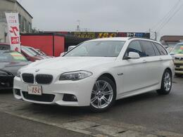 BMW 5シリーズ 523i MスポーツPKG/黒本革/メーカーナビ