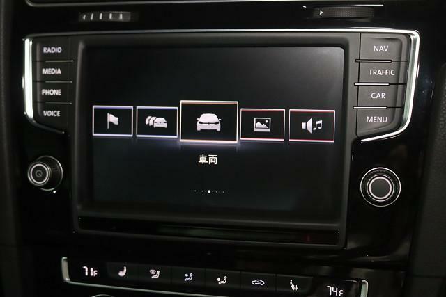 個性的なボタン表示で使いやすく見やすいディスプレイ。
