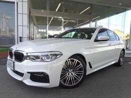 BMW 5シリーズ 540i xドライブ Mスポーツ 4WD 19AW黒革ヘッドUPデモカー認定中古車