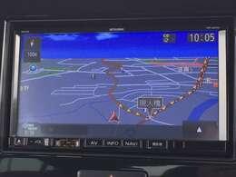 社外ナビ付きですので初めての場所へのドライブも安心です☆うれしいフルセグTVもついています♪