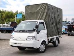 マツダ ボンゴトラック 幌付き平ボディ 背高 1150kg AT車 左電格ミラー