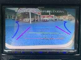 セレクトビューバックアイカメラ。ワイド・俯瞰画像切替機能付き