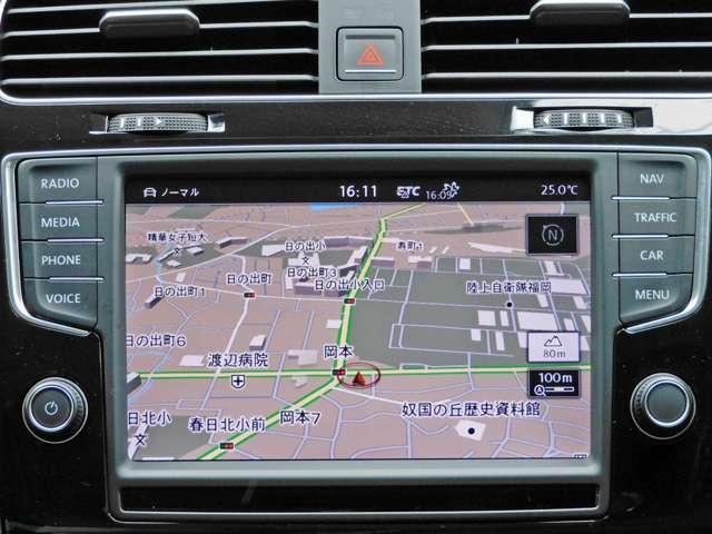 HDDナビ付です。フルセグTV・DVD再生・Bluetoothなど機能満載!!