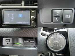 R2年式 アクア Sスタイルブラック セーフティセンス/衝突軽減ブレーキ/車線逸脱警報/オートハイビーム/ETC/純正ナビ/DVD再生/ブルートゥース/Bカメラ/LEDヘッド&フォグ/コーナーセンサー/1オーナー