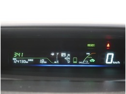 運転に必要な情報が一瞬で確認できる 視認性の良いメーターです。
