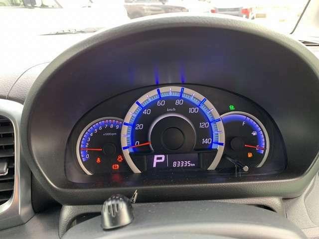 走行距離約8.3万kmのお車です!長く乗るにはピッタリのお車です!視認性も良く、ガソリンの残量も一目でわかります!
