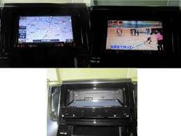シンプルで操作簡単、社外ナビ、テレビも見られます。