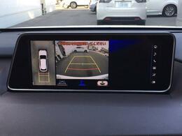 【360°モニター】駐車時に全方位確認もできますので、大きな車の運転で不安な方も安心してお乗りいただけます♪
