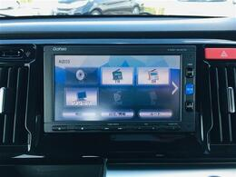 【純正SDナビ】CD・DVDの再生はもちろん、ワンセグ・Bluetoothにも対応しているのでドライブが快適になりますね!!