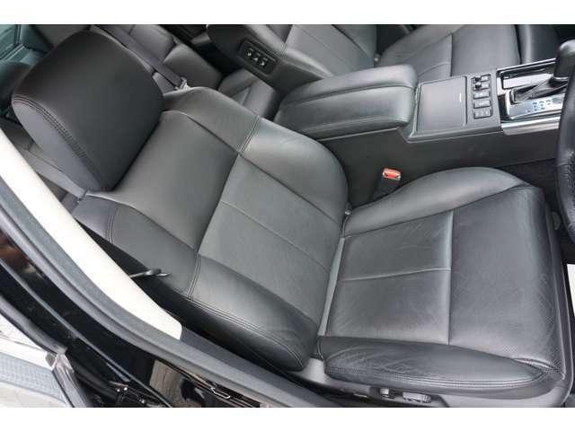 ★【黒革エアシート&ヒーター】運転席シートのコンディションをご確認下さい!!★