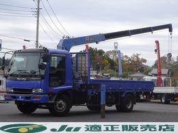 いすゞ フォワード クレーン タダノ4段クレーンZR363 フックイン