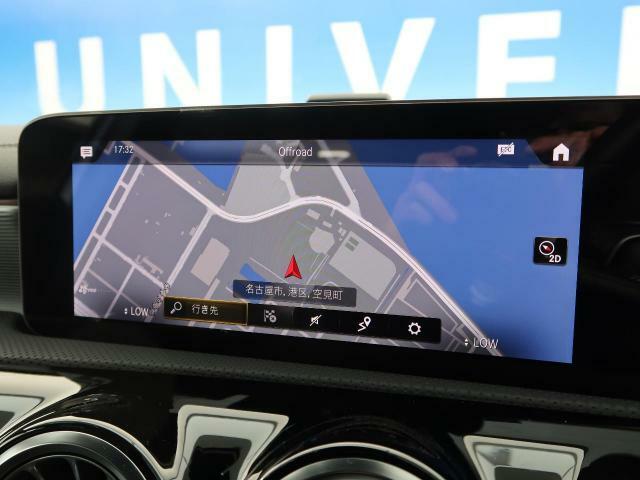 ●メルセデス・ベンツ純正ナビ:高級感のある車内を演出させるナビです!