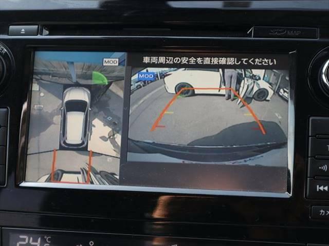 全方位カメラ付きで駐車アシストも使用可能☆☆