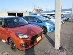 最近は、ユーザーからの買い取りが多く、とてもお買い得な車両がございます、是非ご来店ください!