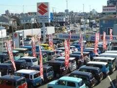当営業所の中古車は全国のスズキで対応可能な保証付き!!