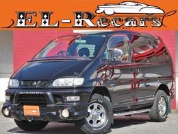 三菱 デリカスペースギア 3.0 アクティブフィールドエディション ハイルーフ 4WD /半革/オートステップ/HDDナビ/フルセグ