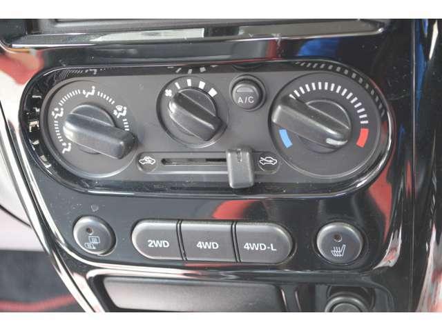 切り替えタイプの4WDでL-4WDもあるので悪路も大丈夫♪