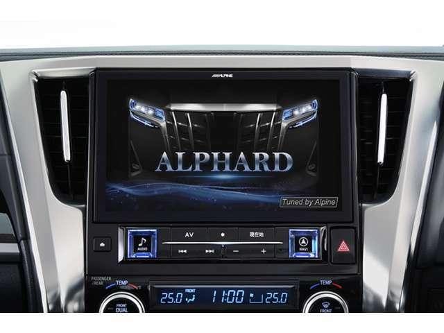 Bプラン画像:ディスプレイオーディオをアルパインのBIB-Xナビ11インチモデルヘの移設を行います!ハイブリッド車両への装着はできませんが、快適な仕様変更をお勧めいたします。