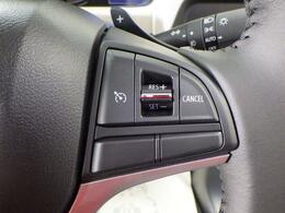 クルーズコントロールを装備しています。ペダル操作なしで設定速度を保ちます。ロングドライブが快適です。