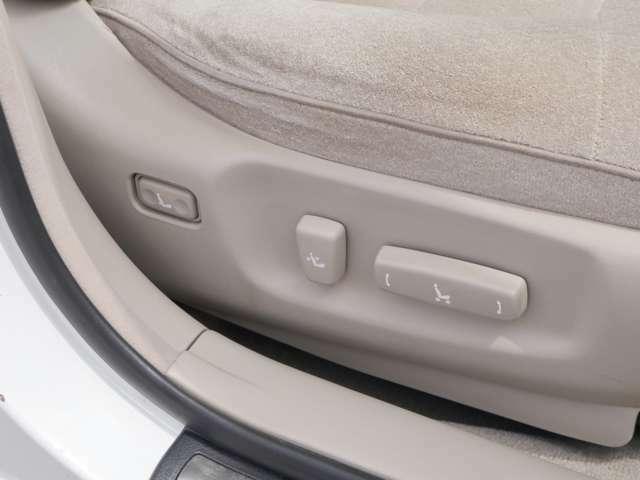 電動シート完備!!お好みのシートポジションにして下さい。