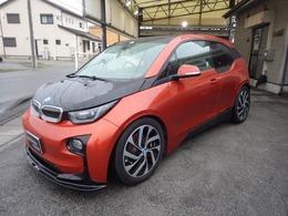 BMW i3 レンジエクステンダー 装備車 1オーナー ブラウンレザー 車高調