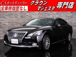 トヨタ クラウンマジェスタ 3.5 Fバージョン 後期型/黒革/トヨタセーフティセンス/SD