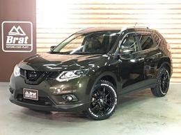 日産 エクストレイル 2.0 20Xt エマージェンシーブレーキパッケージ 2列車 4WD 4WD ツヤ黒塗装 新品18AW 新品R/Tタイヤ