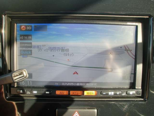 純正メモリーナビ/地デジ/CD/USB