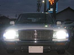 ヘッドライト及びポジションランプは車検対応用LED球を取付けています。明るいですよ!