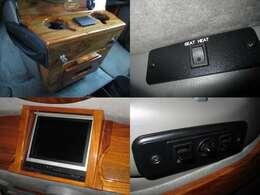 シートヒーター 電動シート 後席モニター 快適装備も揃っております!!