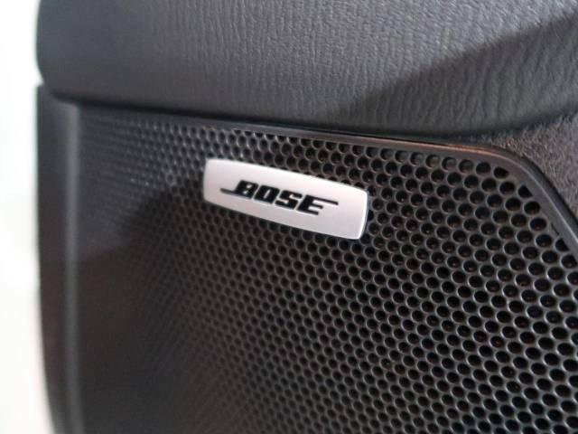 【BOSEサウンド】各種オーディオ再生機能も充実しており、お車の運転がさらに楽しくなります!!