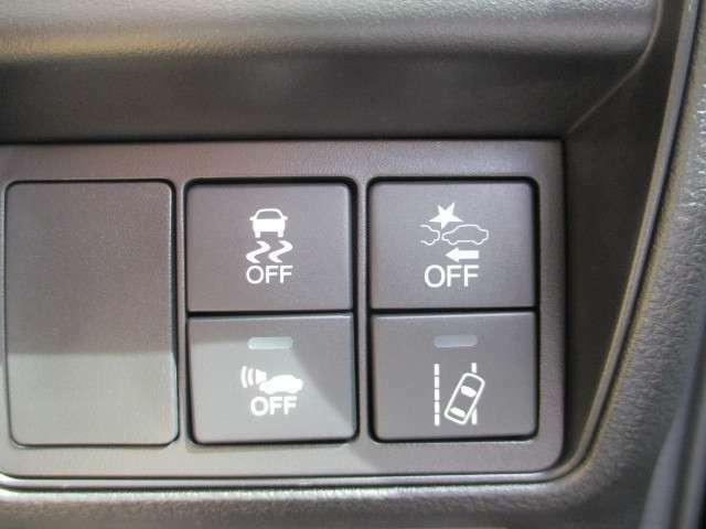 ホンダセンシング搭載!誤発進抑制機能・路外逸脱抑制機能付きでより安全で快適なドライブを支援します。