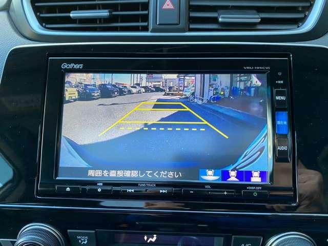 ★バックカメラ付きなので駐車時も安心です!