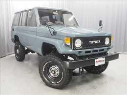 トヨタ ランドクルーザー70 4.2 ZX ディーゼル 4WD 全塗装 リフトUP 1ナンバー BFG