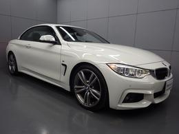 BMW 4シリーズカブリオレ 435i Mスポーツ ブラックレザ-シ-ト HDDナビ バックカメラ