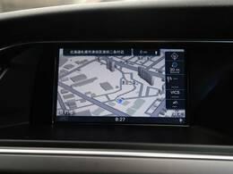 ●アウディ純正ナビ:高級感のある車内を演出させるナビです!お手元のコントローラーにて操作して頂きます♪